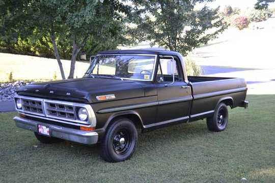 Ford f-100 1971 photo - 10