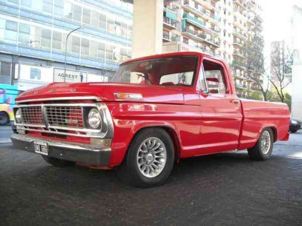 Ford f-100 1971 photo - 6