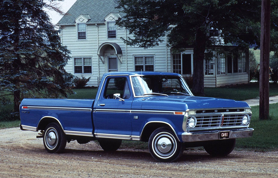 Ford f-100 1972 photo - 1