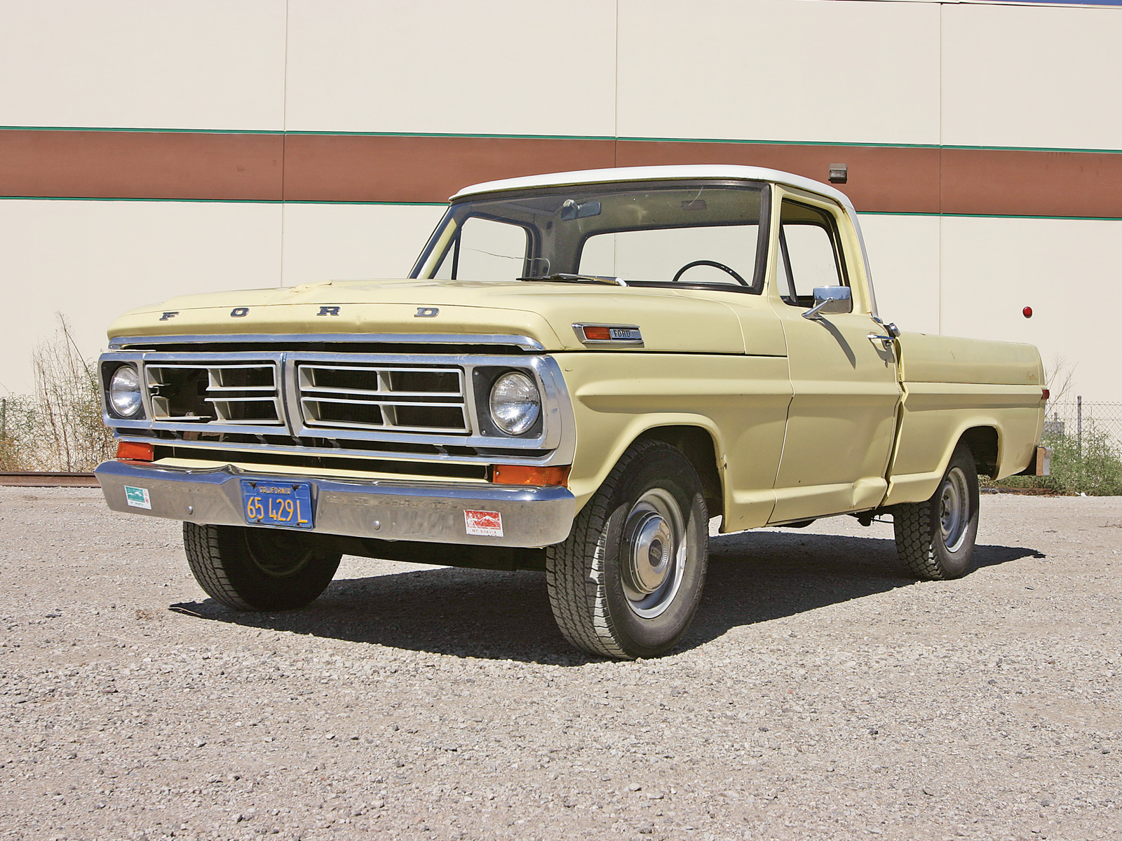 Ford f-100 1972 photo - 2