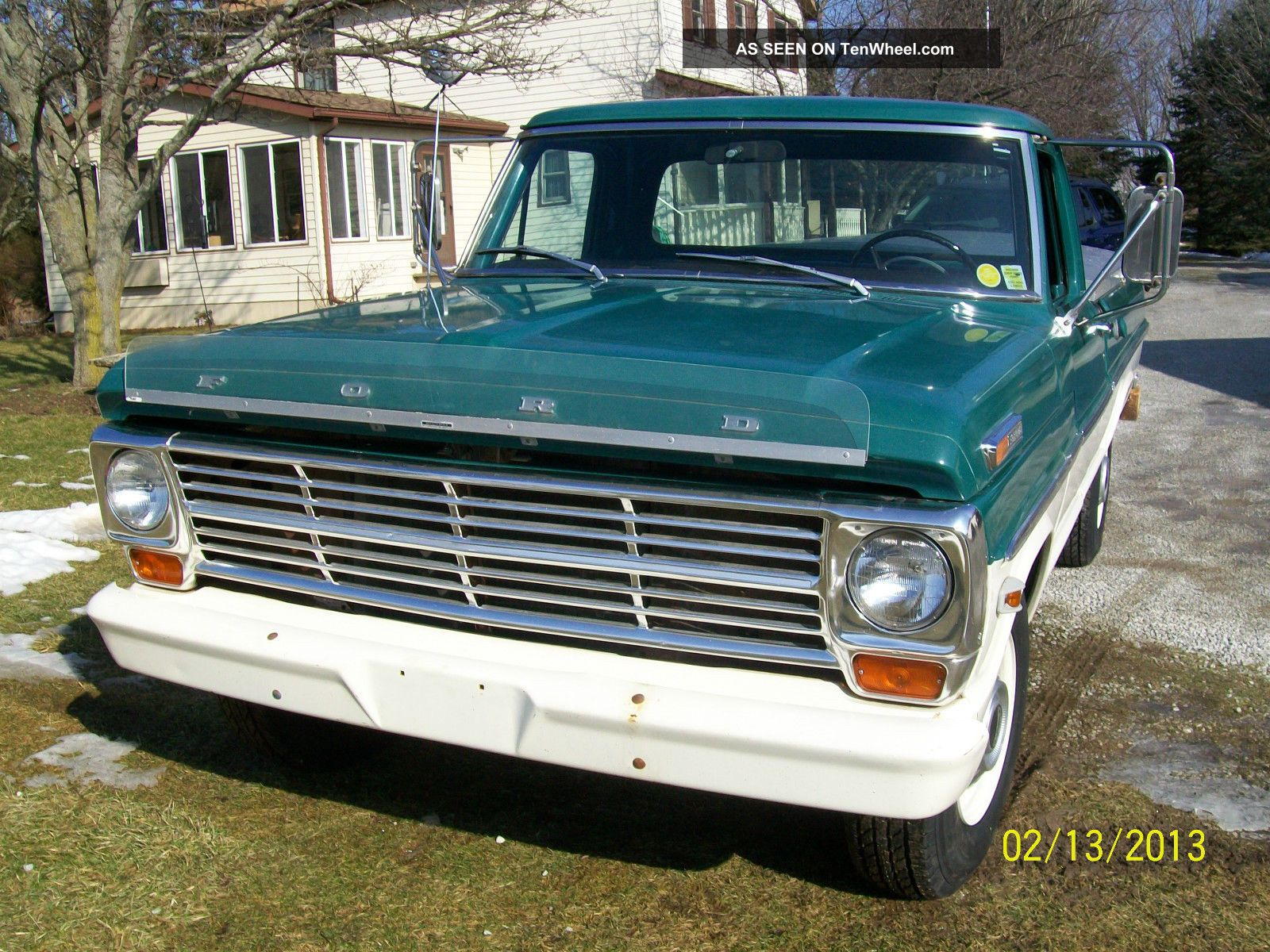 Ford f 250 1968 photo 8