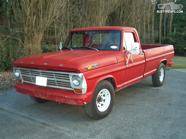 Ford f-250 1969 photo - 2