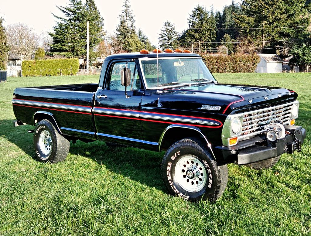 Ford f-250 1969 photo - 8