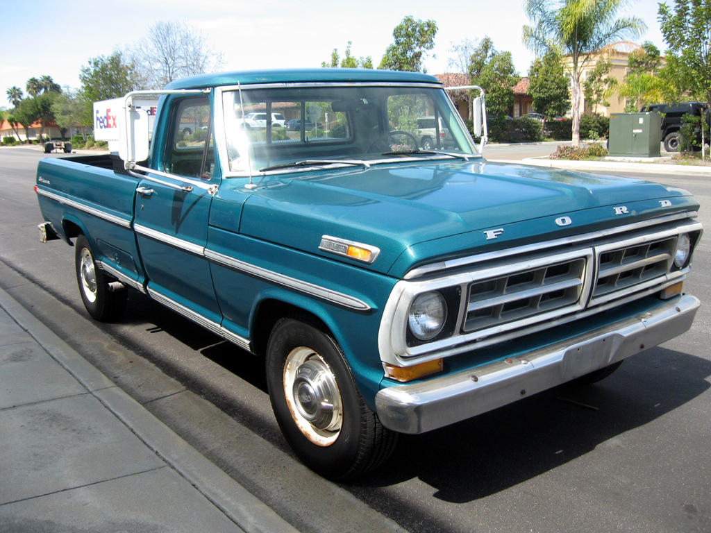 Ford f-250 1971 photo - 8