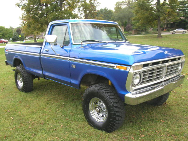Ford f-250 1975 photo - 2