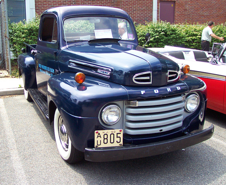 Ford f1 1950 photo - 4