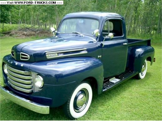 Ford f1 1950 photo - 9