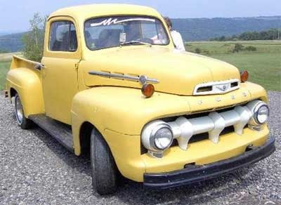 Ford f1 1951 photo - 1