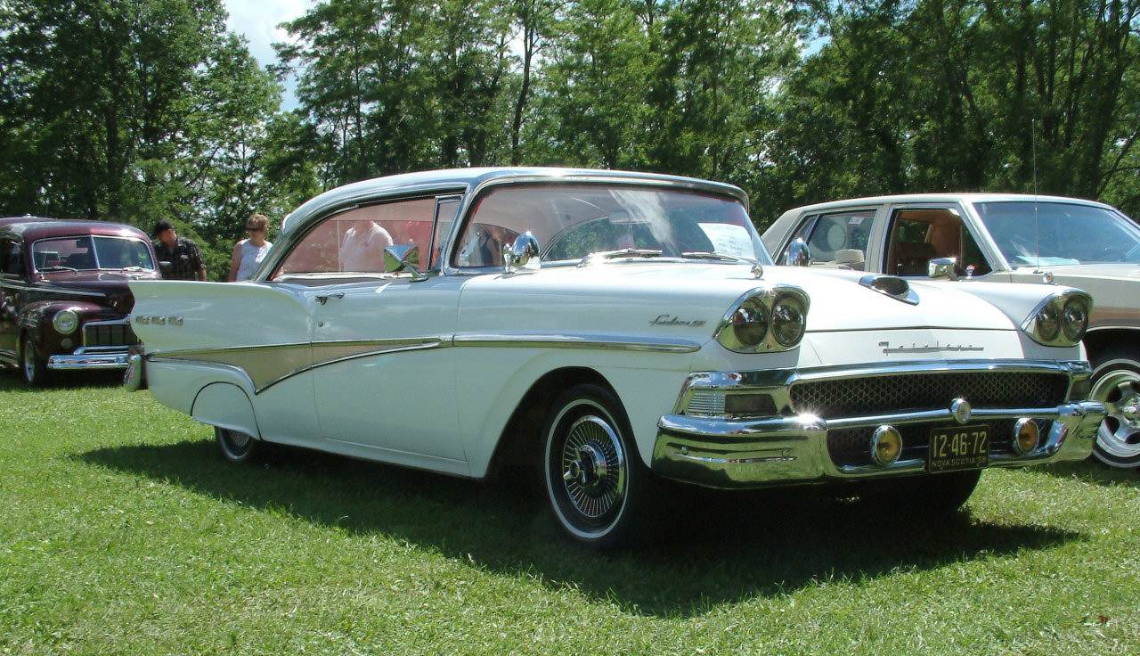 Ford Fairlane 1958 Review Amazing Pictures And Images
