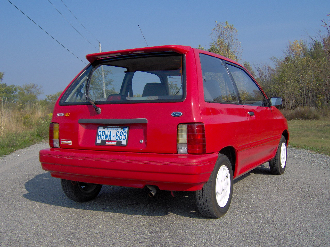 Ford Festiva 1988 Review Amazing Pictures And Images