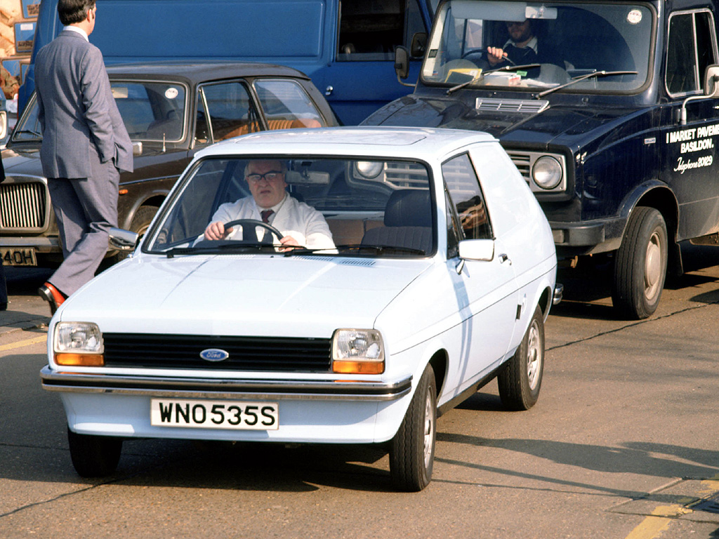 Ford fiesta 1984 photo - 4