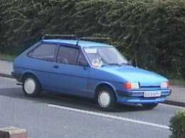 Ford fiesta 1985 photo - 3