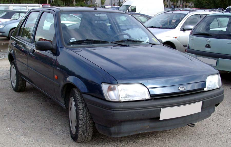 Ford fiesta 1995 photo - 1