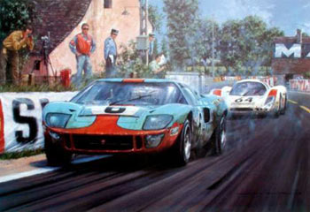 Ford GT40 1969 photo - 10