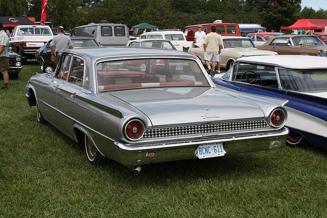 Ford galaxy 1961 photo - 2