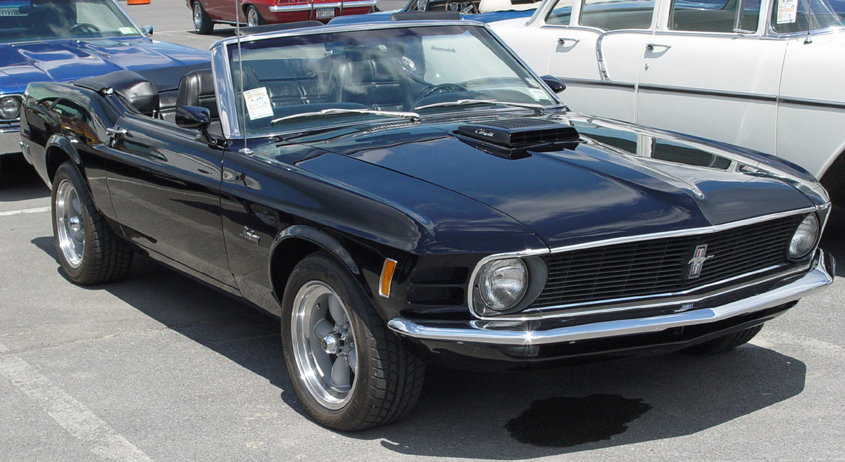 Ford Mustang 1970 photo - 6