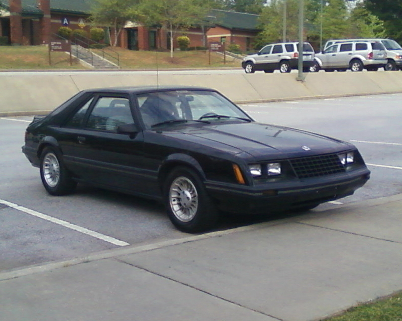 Ford Mustang 1982 photo - 3