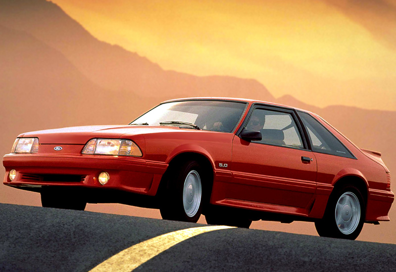 Ford Mustang 1987 photo - 8