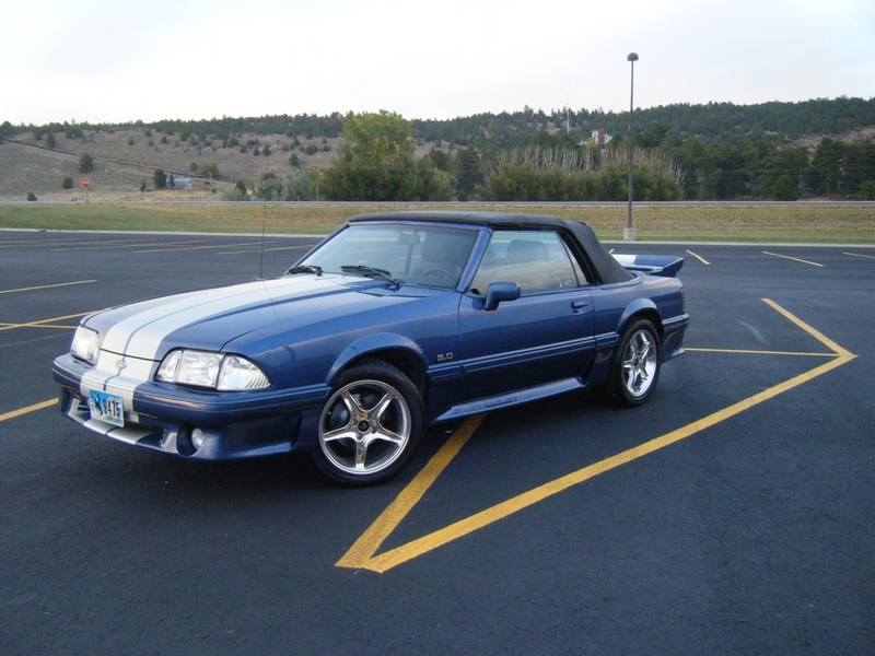 Ford Mustang 1989 photo - 5