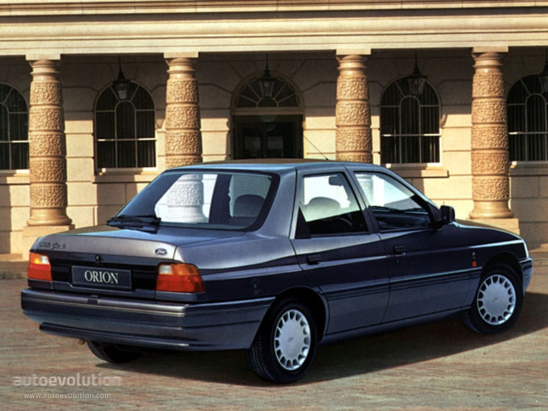 Ford Orion 1990 photo - 4