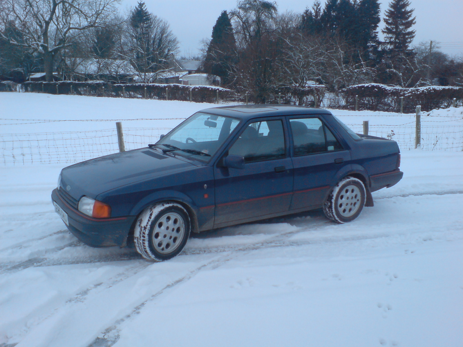 Ford Orion 1990 photo - 6