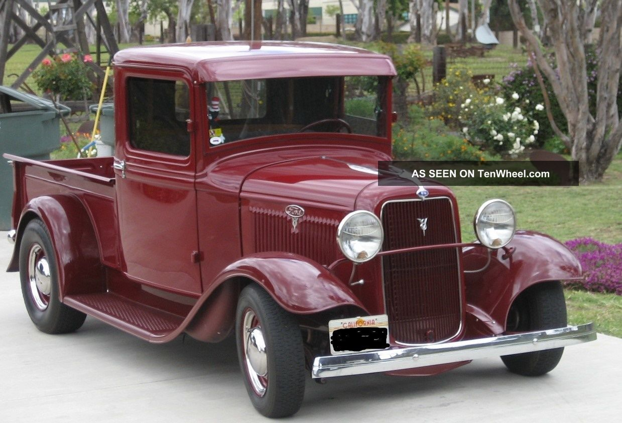 Ford Pickup 1934 photo - 5