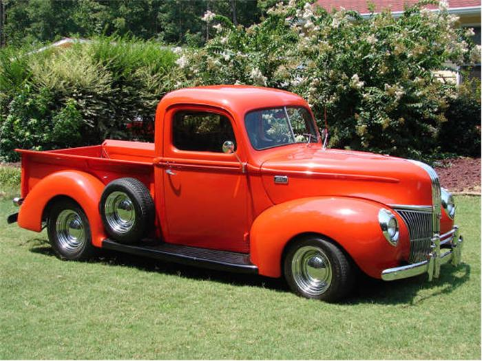 Ford Pickup 1941 photo - 7