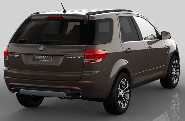 Ford Territory 2011 photo - 2