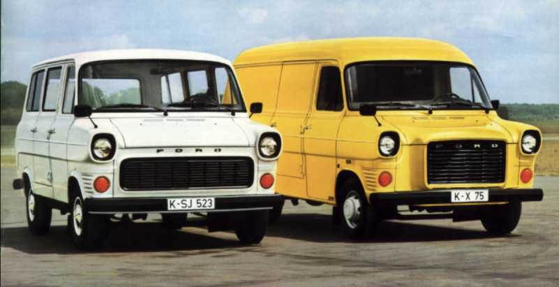 Ford Transit 1970 photo - 8