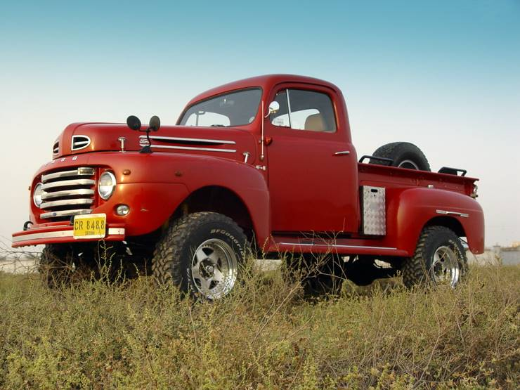 Ford Truck 1948 photo - 4