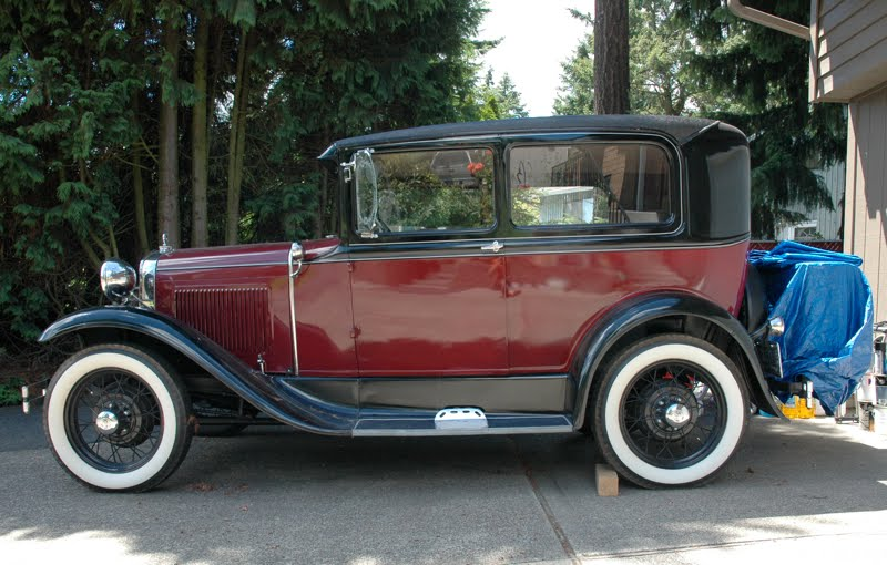 Ford Tudor 1930 photo - 4