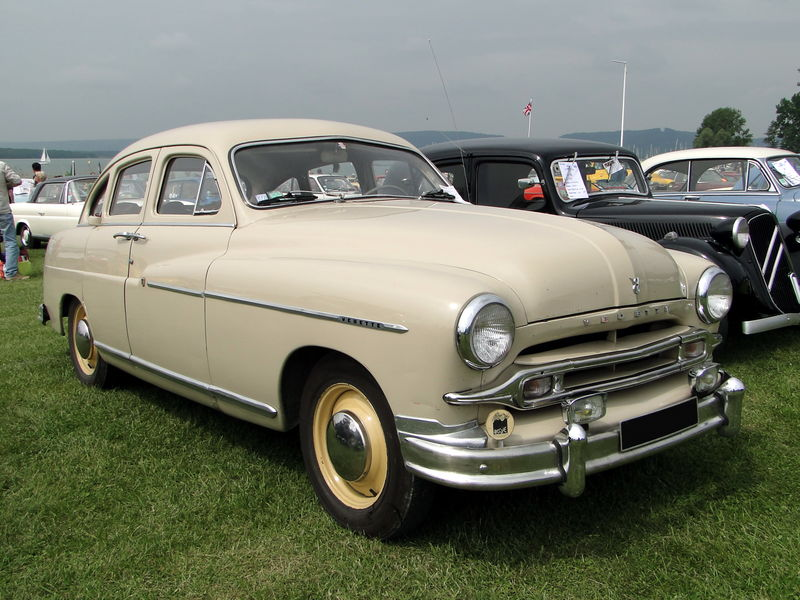 Ford Vedette 1952 photo - 5