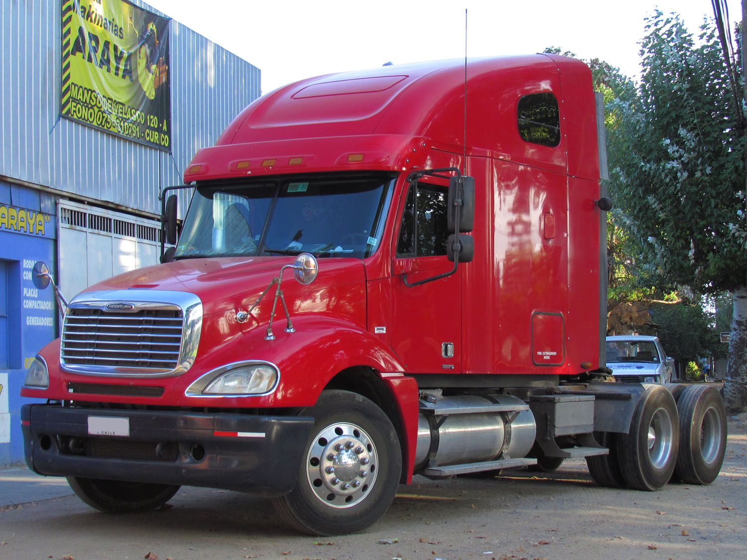 Honda Of Columbia >> Freightliner Columbia 2008: Review, Amazing Pictures and Images – Look at the car