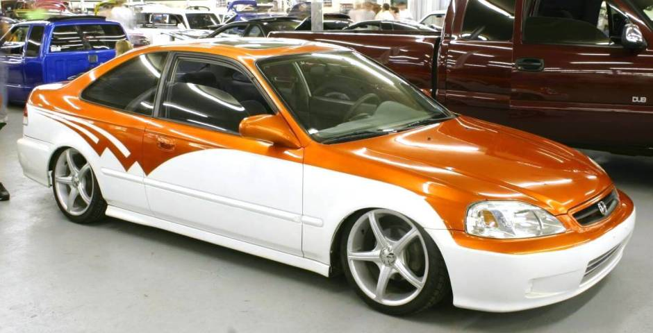 Honda Civic 2000 photo - 3