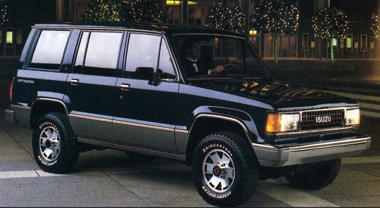 Isuzu Trooper 1988 Review Amazing Pictures And Images Look At