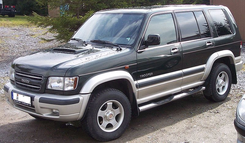 Isuzu Trooper 2003 Review Amazing Pictures And Images Look At