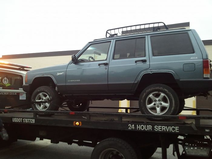 Jeep Cherokee 1998 photo - 3