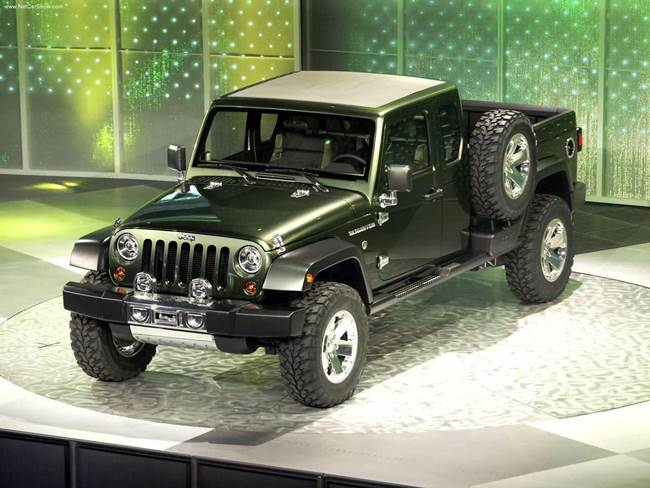 Jeep Gladiator 2015 photo - 2