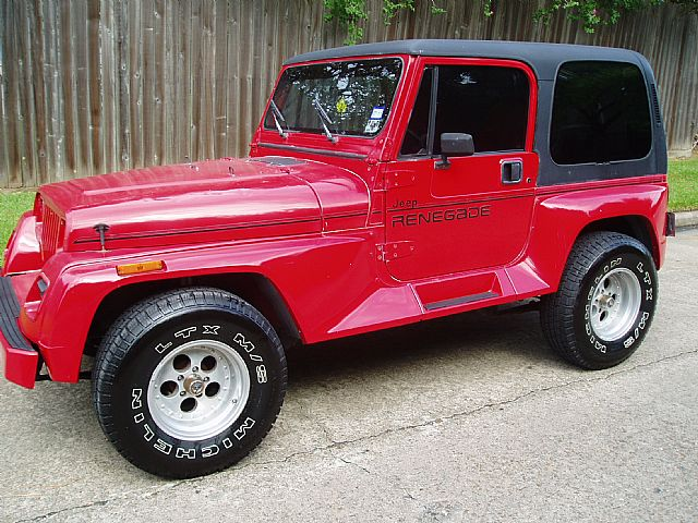 Jeep Renegade 1990 photo - 2