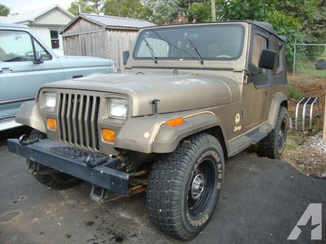 Jeep Wrangler 1988 photo - 3