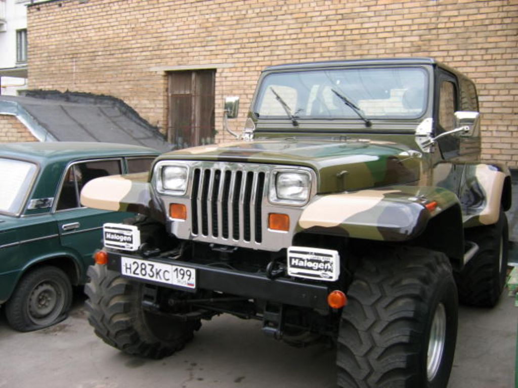 Jeep Wrangler 1995 photo - 3