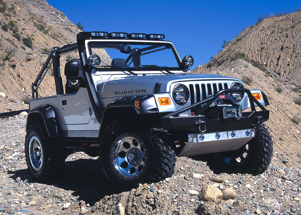Jeep Wrangler 2002 photo - 2