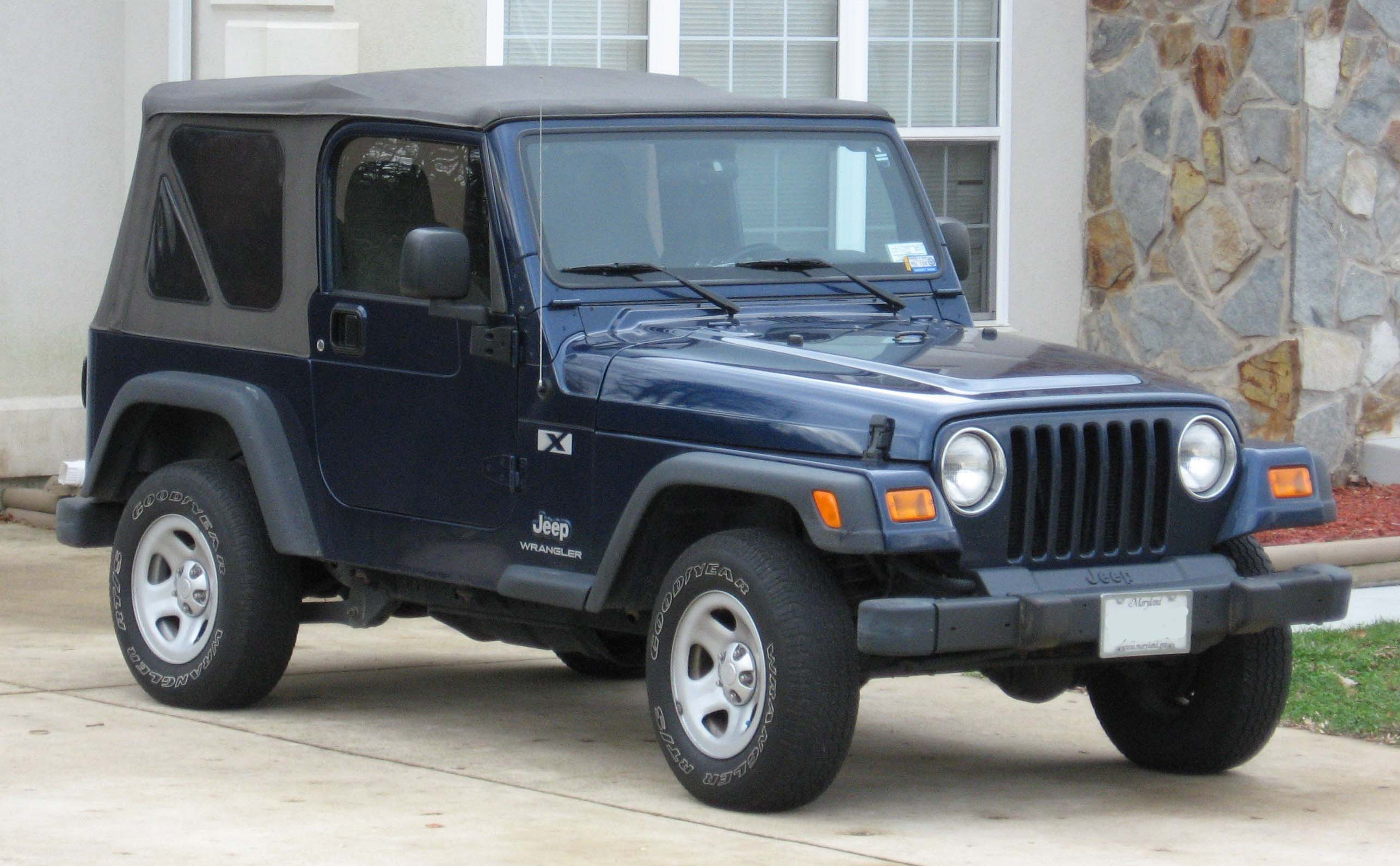 Jeep Wrangler 2003 photo - 1