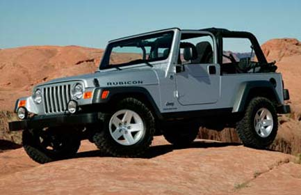 Jeep Wrangler 2004 photo - 1
