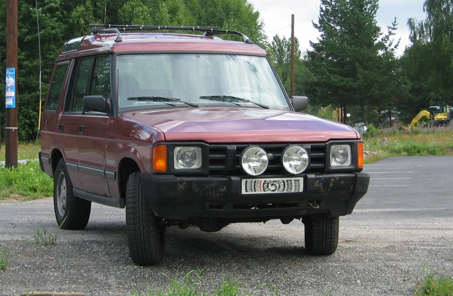 Land Rover Discovery 1995 photo - 3