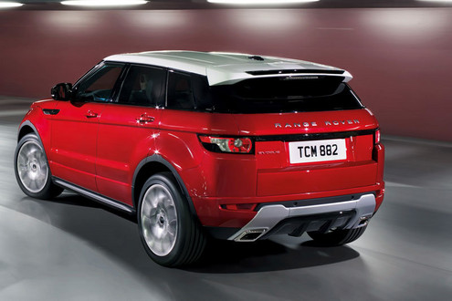 Land Rover Evoque 2011 photo - 3