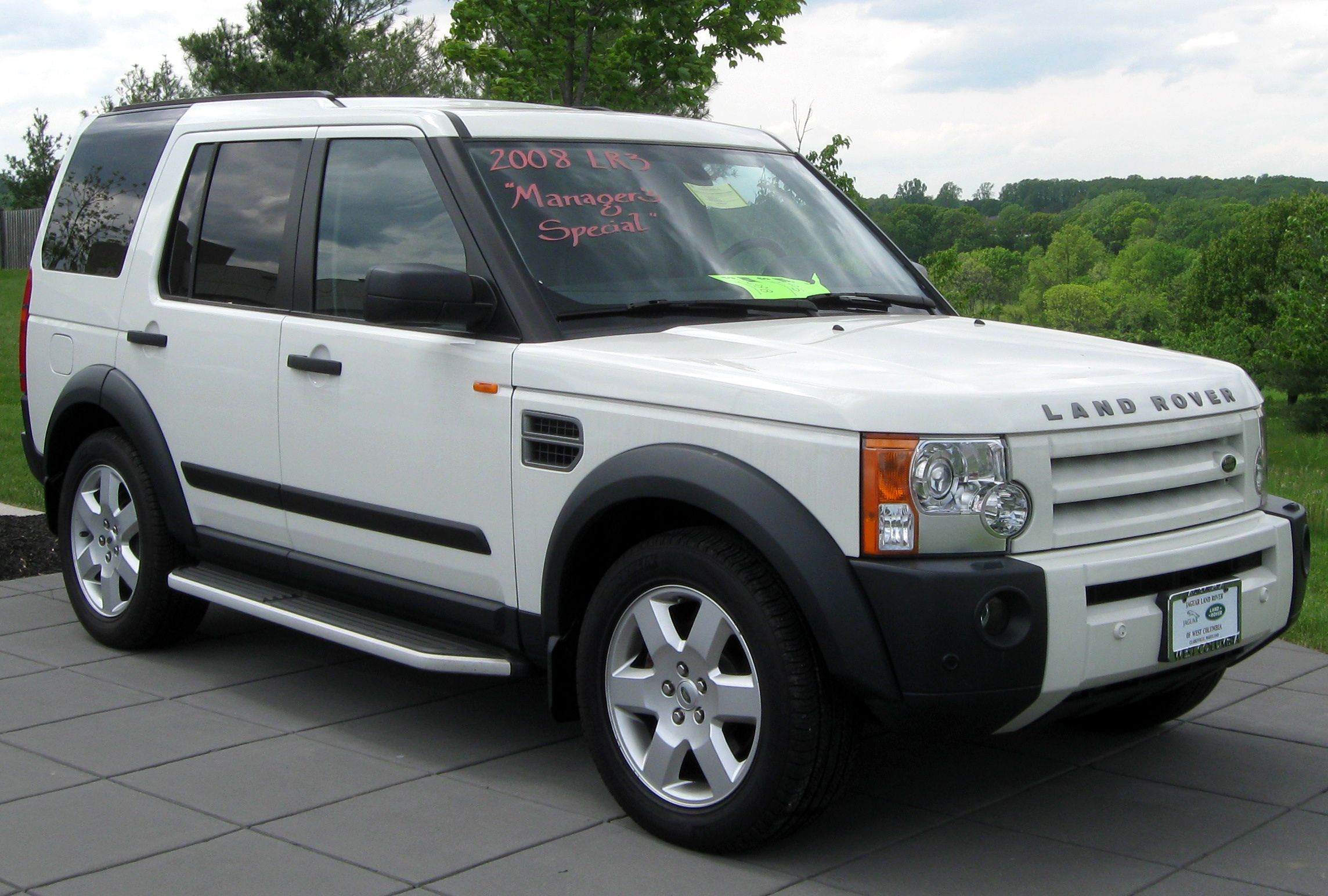 Land Rover Lr3 2008 Photo 1