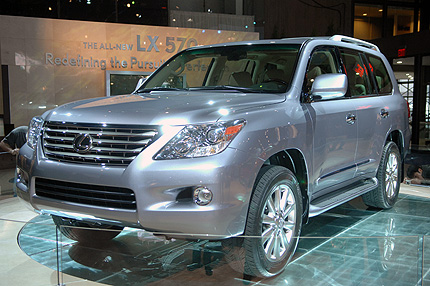 Lexus LX 470 2007 photo - 3
