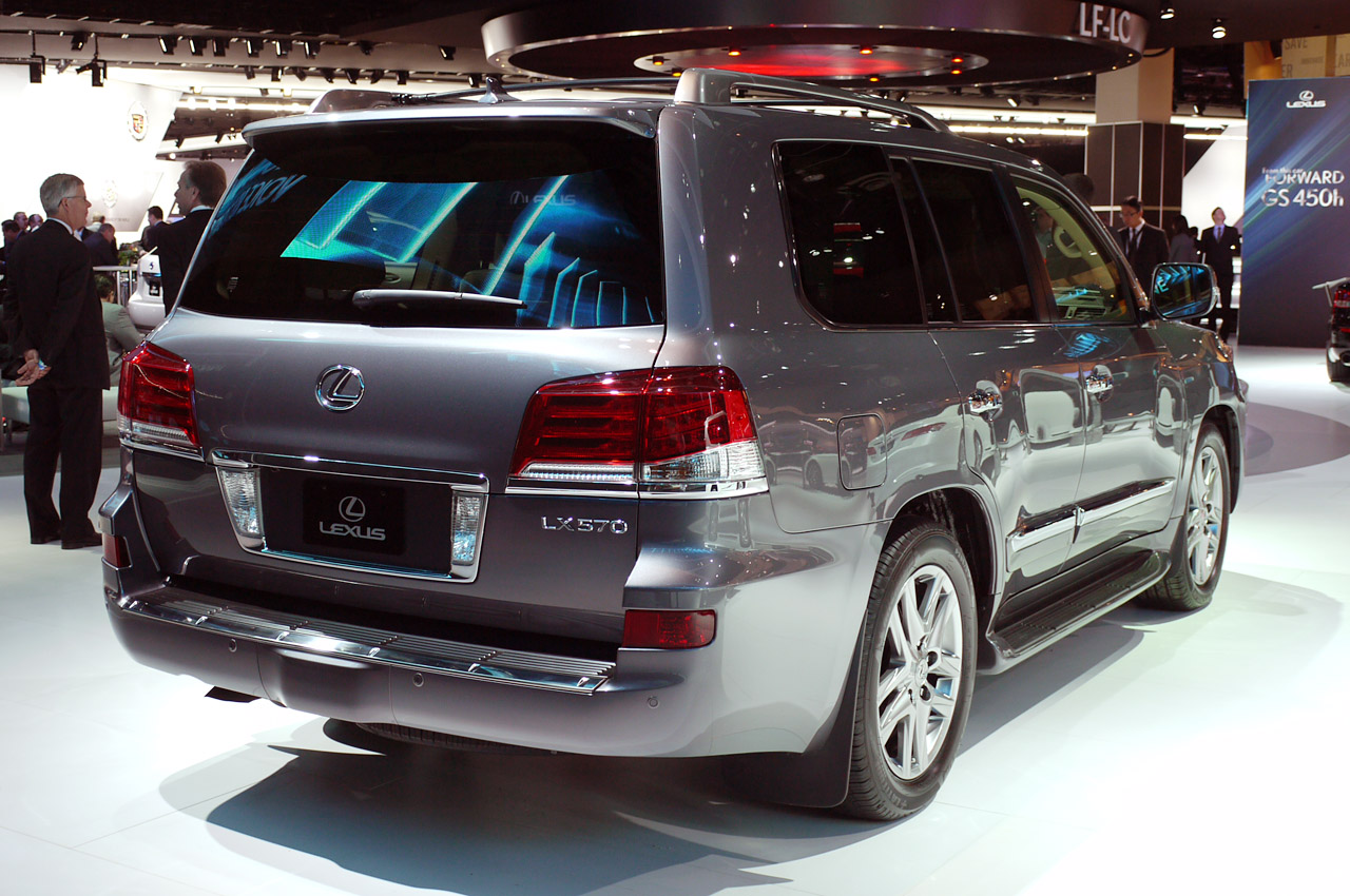 Lexus Lx 470 2014 Review Amazing Pictures And Images
