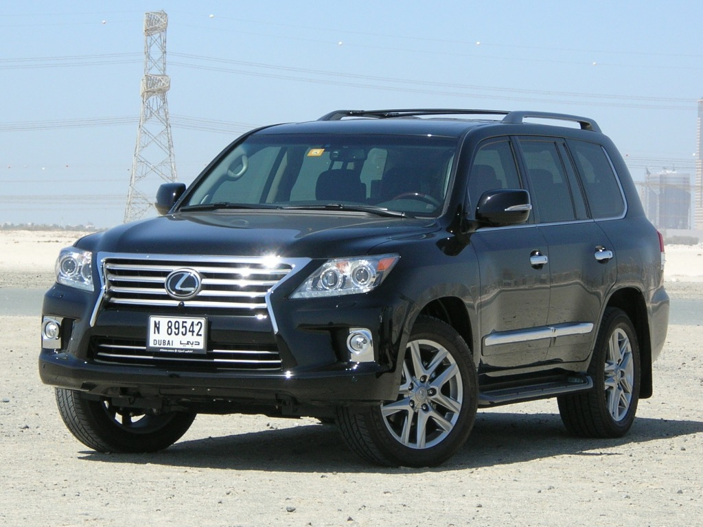 Lexus lx 570 2012 photo - 1